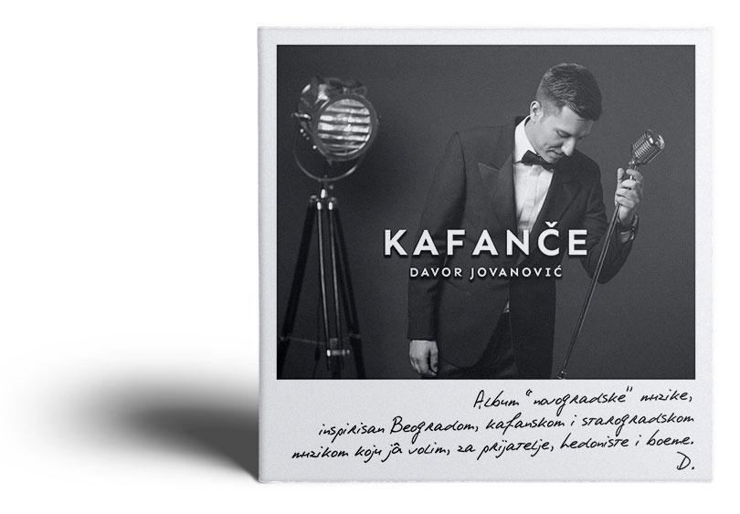 Album Kafanče - Davor Jovanovic